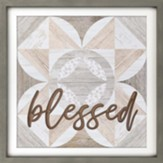 Blessed Carved Framed, Wall Decor