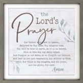 The Lord's Prayer Carved Framed, Wall Decor