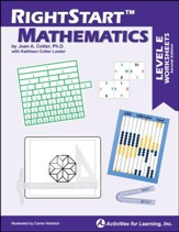 RightStart Mathematics Level E Worksheets, Second Edition