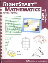 RightStart Mathematics Level F  Worksheets, Second Edition