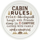 Cabin Rules, Wall Art