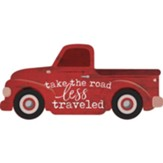 Take The Road Less Traveled, Truck Shaped Art