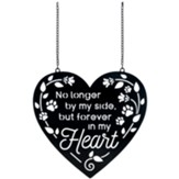 Forever In My Heart, Pet Metal Garden Flag, Small