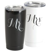 Mr. & Mrs. Stainless Steel Tumblers Set