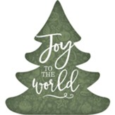 Joy to the World, Christmas Tree, Shape Art