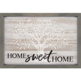 Home Sweet Home Carved Framed, Wall Decor
