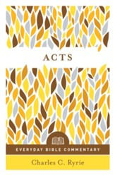 Acts (Everyday Bible Commentary Series) - eBook