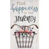 Find Happiness In the Journey Wall Basket