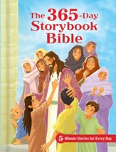 The 365-Day Storybook Bible, ebook: 5-Minute Stories for Every Day - eBook