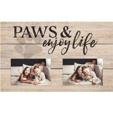 Paws And Enjoy Life, Photo Frame