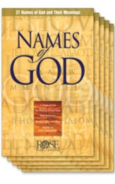 Names of God - Hendrickson Rose Publishing