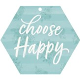 Choose Happy, Gift Tag