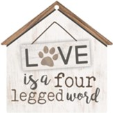 Love Is A Four Legged Word, Gift Tag