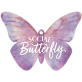 Social Butterfly, Gift Tag