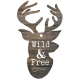 Wild And Free Gift Tag