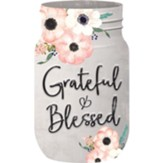 Grateful And Blessed, Shaped Art