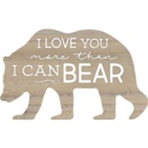 I Love You More Than I Can Bear, Shaped Art