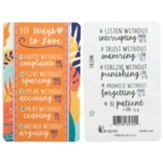 10 Ways to Love Pocket Bookmark