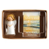 Irish Blessing Angel Figurine with Card