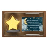 Irish Blessing Star Figurine with Card