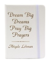 Personalized, Notebook, Prayers, White