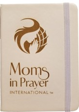 Moms in Prayer Notebook, White