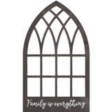 Family Is Everything Carved, Wall Art, Window
