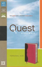 NIV Quest Study Bible: The Question and Answer Bible
