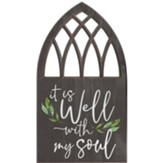 It Is Well With My Soul Carved, Wall Art, Door