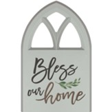 Bless Our Home Carved, Wall Art, Window