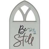 Be Still Carved, Wall Art, Window