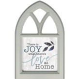 There Is Joy When There's Love At Home, Wall Art, Window