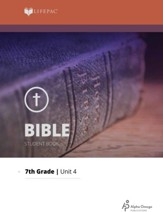 Lifepac Bible Grade 7 Unit 4: Fulfilled Prophecies Of Christ