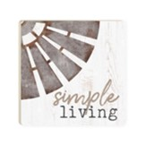 Simple Living Coaster