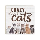 Crazy About Cats Coaster