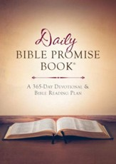 The Daily Bible Promise Book: A 365-Day Devotional and Bible Reading Plan - eBook