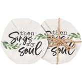 Then Sings My Soul Coasters, Set of 4