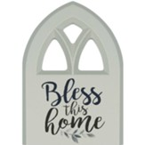 Bless This Home Plaque, Window