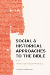 Social & Historical Approaches to the Bible - eBook