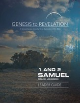 1&2 Samuel, Leader Guide, E-Book (Genesis to Revelation Series)