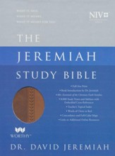 NIV Jeremiah Study Bible, Imitation Leather, brown
