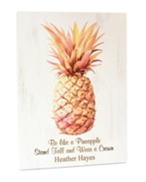 Personalized, Pineapple Plaque,