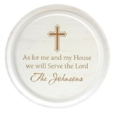 Personalized, Circle Sign, As For Me and My House,