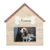 Personalized, Dog House Photo Frame, with Name