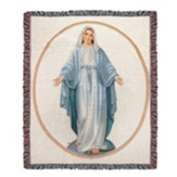 Virgin Mary Throw