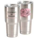 She is Clothed Stainless Steel Mug
