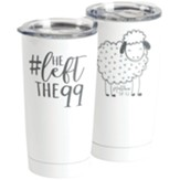 He Left the 99, Matthew 18:12 Stainless Steel Mug