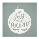 Joy to the World Block Art