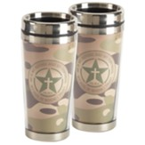 Psalm 91:2 Travel Mug, Camouflage
