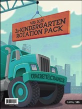 Concrete & Cranes: Rotation Leader Pack, 3s - Kindergarten